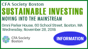 CFA Society Boston ESG Seminar 2018