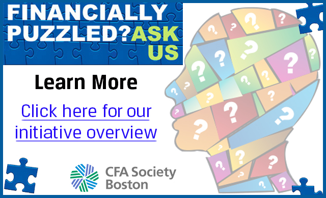 CFA Society Boston's Financial Literacy Initiative Overview